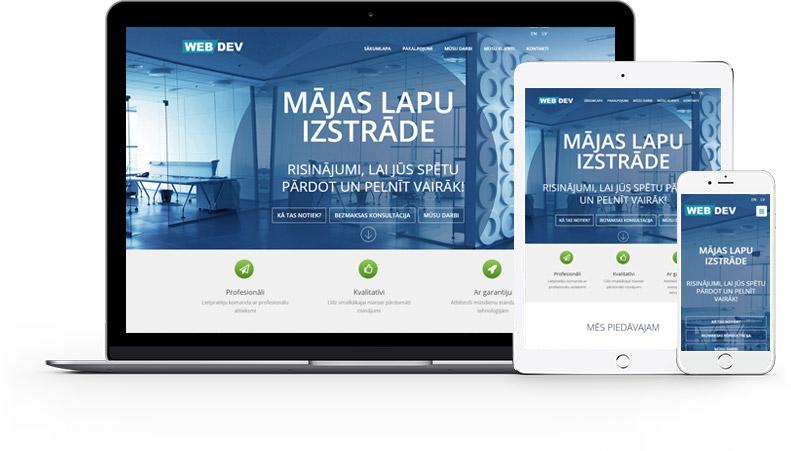 Mājas lapu izstrāde