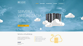 Brand that provides business computation and software resource maintenance in the cloud. Company offers IT services that will make a great impact and promote success of business. Cloudy is the new sunny