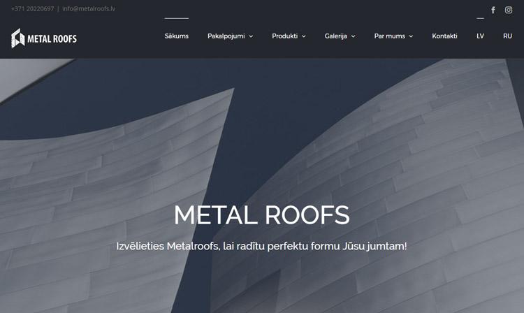 """SIA """"Metal Roofs"""" – komanda, kas ietver pieredzējušus meistarus un jaunus profesionāļus jumiķu jomā. Darbā iesaistītie pārstāvji ir ar šādām specialitātēm, piemēram, jumiķi,skārdnieki, namdari,mūrnieki, metinātāji, industriālie alpīnisti."""