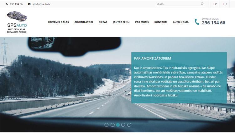 Uzņēmuma galvenie darbības virzieni ir auto detaļu vairumtirdzniecība ar bezmaksas piegādi Rīgā un zemo cenu auto noma. SPS Auto piedāvā gan oriģinālās auto detaļas, gan analogo auto daļu ražotāju izstrādājumus.